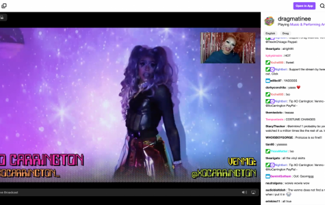 Drag performers use virtual platform to deliver music videos by lip syncing and dancing.