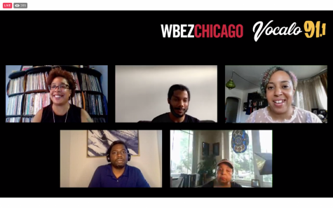 "WBEZ-FM 91.5 and Vocalo 91.1 hosted a virtual event ""Voices of the Movement: Black Activism and Organizing for Change"" with a panel of black activists to discuss the historical fight for racial equity."