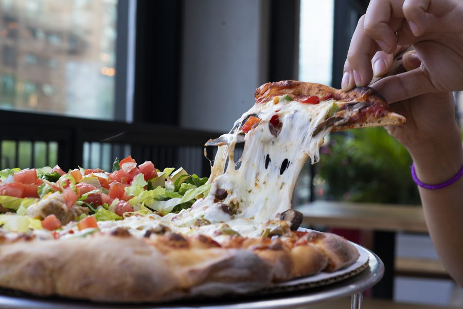 Roots Handmade Pizza offers an array of signature pizzas, including 3 vegetarian-friendly options.