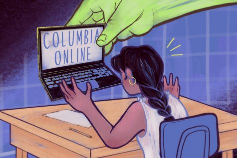 Seven staffers laid off following termination of Columbia Online