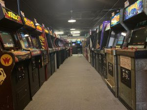 In phase four of Gov. J.B. Pritzker's five phase reopening Illinois plan, America's largest arcade, Galloping Ghost in Brookfield, Illinois, opens its door to gamers.