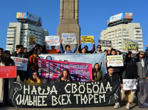 Opinion: From my home in Kazakhstan to the US, protesters share similar fight for justice