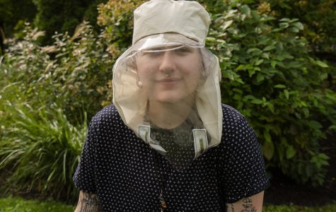 Evryn Sevcech is one of the Columbia fashion students who has been actively involved in producing masks accessible to the Deaf community.