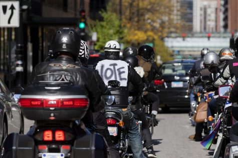 Chicago motorcyclists 'Ride to the Polls' to encourage voting