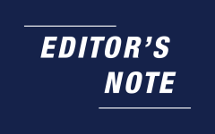 Editors' Note: New year, same passionate philosophy