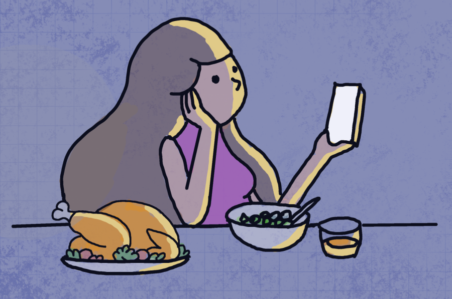 Students find ways to make a solitary Thanksgiving feel less lonely