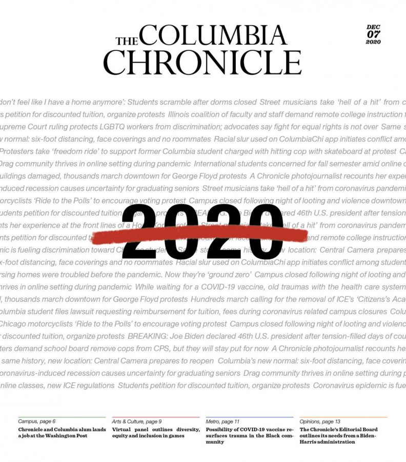 A year for the books: The Chronicle looks back on 2020
