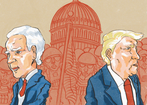 New president, same old political divisions