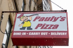 Pauly's Pizza, located at 719 S State St, was a staple of the south loop for over a decade. Pauly's was a fan favorite of the Columbia College community.