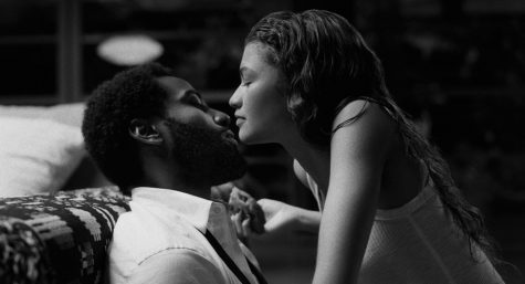 """Malcolm & Marie,"" starring John David Washington as Malcolm and Zendaya as Marie, directed by Sam Levinson, premiered on Netflix Feb. 5 in the U.S."