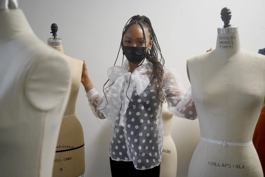 Amaiya Sims, senior fashion merchandise major and winner of the NRF Next Generation Scholarship, plans to attend a merchant in training program with Kohls after graduation.
