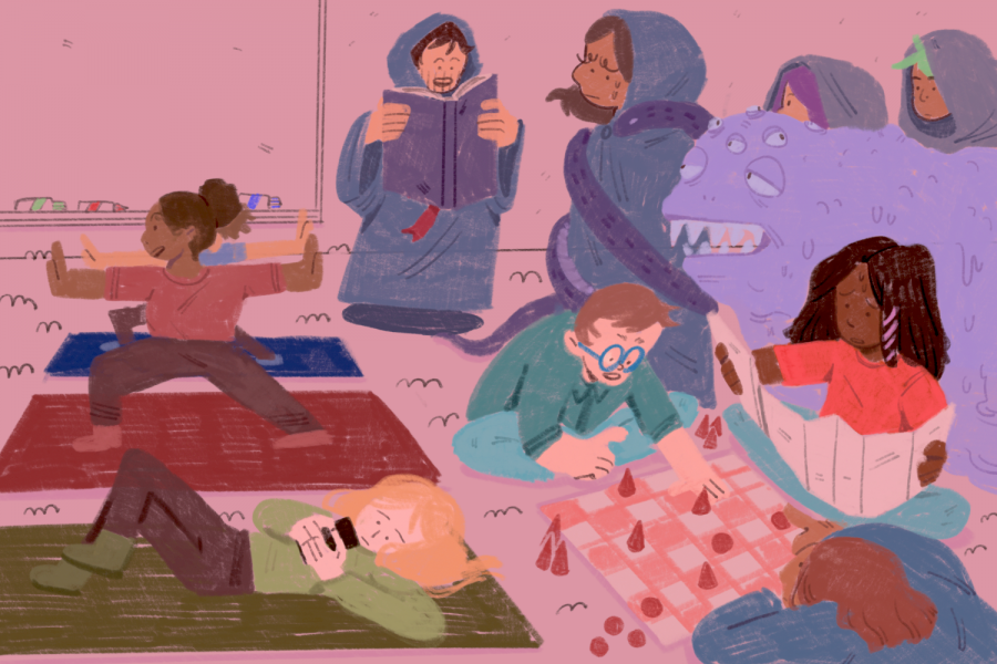 Lasers and board games: The most interesting classes to take this fall