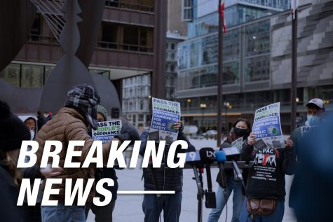 Derek Chauvin was found guilty of murder on Tuesday, April 20 and while a small group of demonstrators gathered in downtown Chicago, the city remained fairly quiet following the verdict.