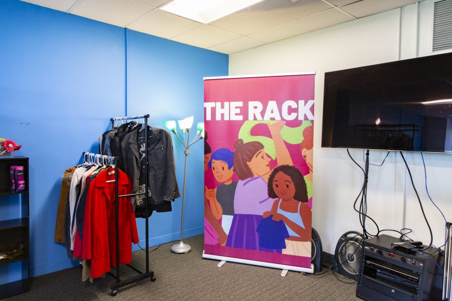 The Columbia Rack is located on the fourth floor of the 618 S. Michigan Ave. building and open to all enrolled Columbia students.