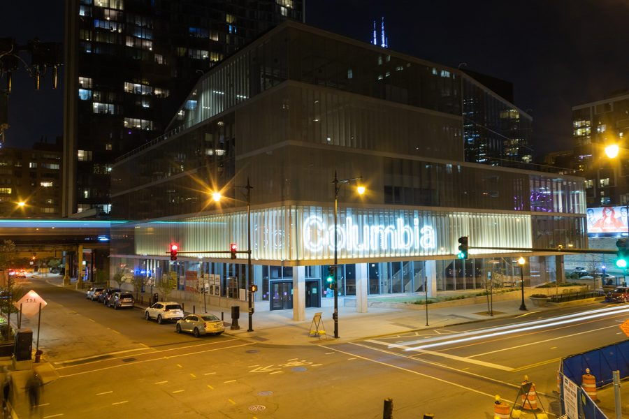 The Student Center, 754 S. Wabash Ave., designed by Gensler, a global architecture and design firm recently announced as an Honorary Degree recipient, provides students with a state-of-the-art creative environment.