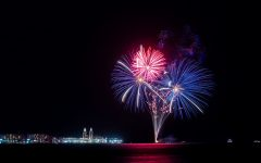 To cap off the reopening of Navy Pier, a fireworks display was held on May 1 for returning patrons.