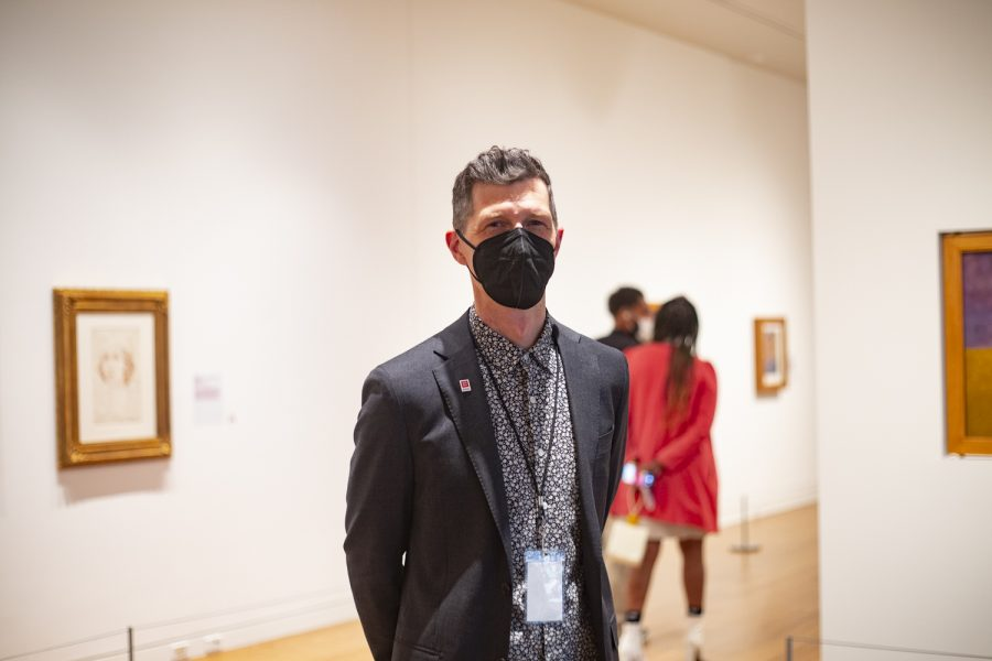 Justin Witte is the curator of Frida Kahlo: Timeless at the Cleve Carney Museum of Art at DuPage College.