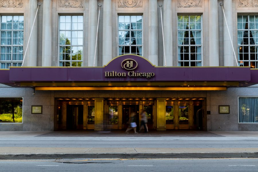 The Hilton Chicago, 720 S. Michigan Ave., is now open for guests for the first time in over a year.