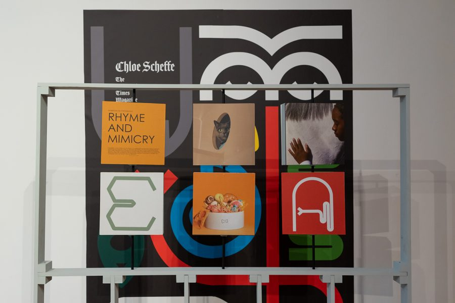 """""""Not My Type, Typefaces on Display"""" showcases 15 projects done by students from the Design Department."""