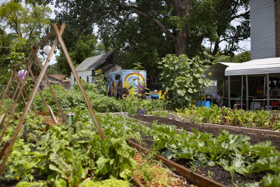 Star Farm has various locations in Back of the Yards, with more to come, but their main farm at 944 W. 50th Place is open Fridays from 1 to 3 p.m. for everyone to take what they need and pay what they can.