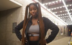 Senior music business major Tandrea Hawkins, who raps under the name T Star Verse and founded a business called Fusion of Light Entertainment with fellow music business major Jordan Blair, is the winner of the $10,000 Tiffany Green Operator scholarship.