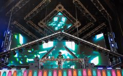Kooze performs a DJ set at Lollapalooza July 31 on the festival's primary venue for EDM artists, the Solana x Perry's Stage.